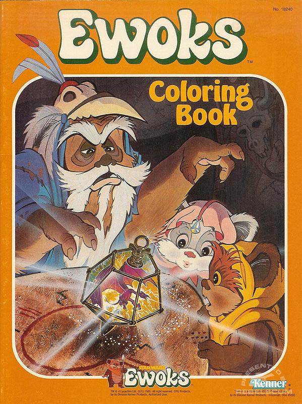 Ewoks Coloring Book