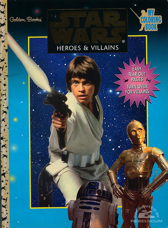 Star Wars: Heroes & Villains Coloring Book