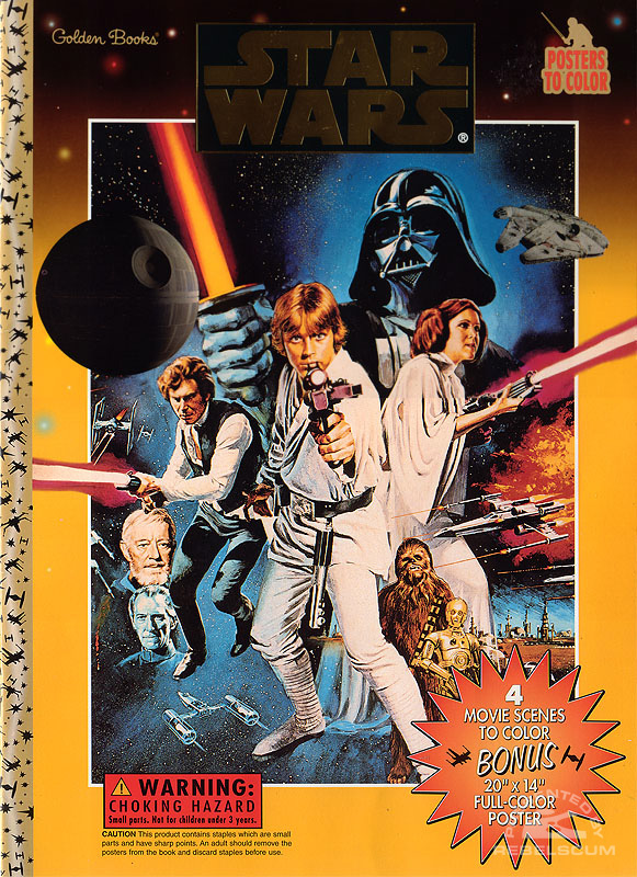 Star Wars: Posters to Color