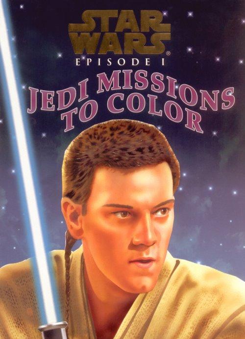 Star Wars: Episode I – Jedi Missions to Color