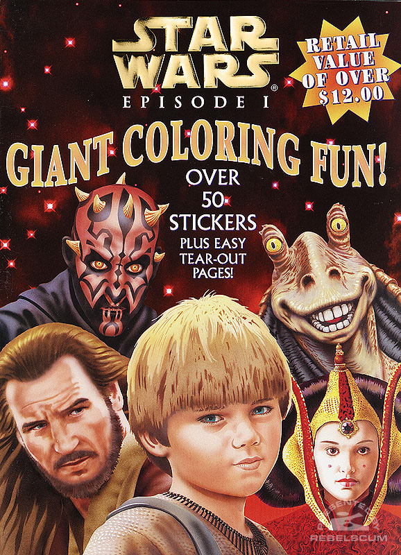 Star Wars: Episode I – Giant Coloring Fun