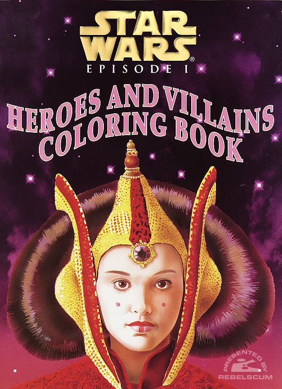 Star Wars: Episode I – Heroes and Villains Coloring Book