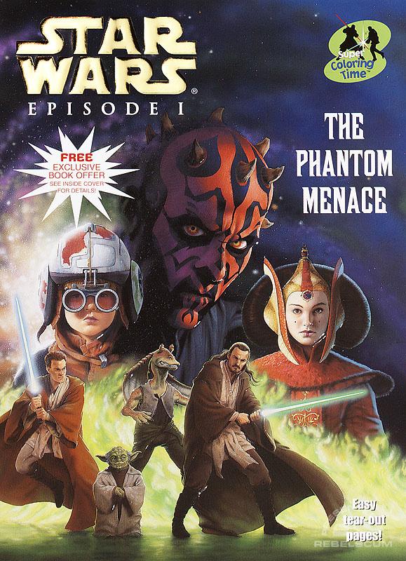 Star Wars: Episode I – The Phantom Menace Coloring Book