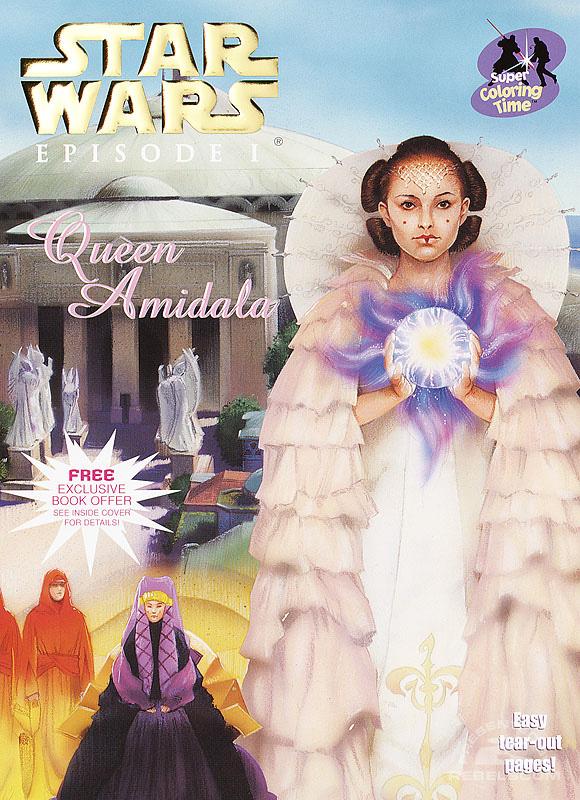 Star Wars: Episode I – Queen Amidala's Royal Coloring Book