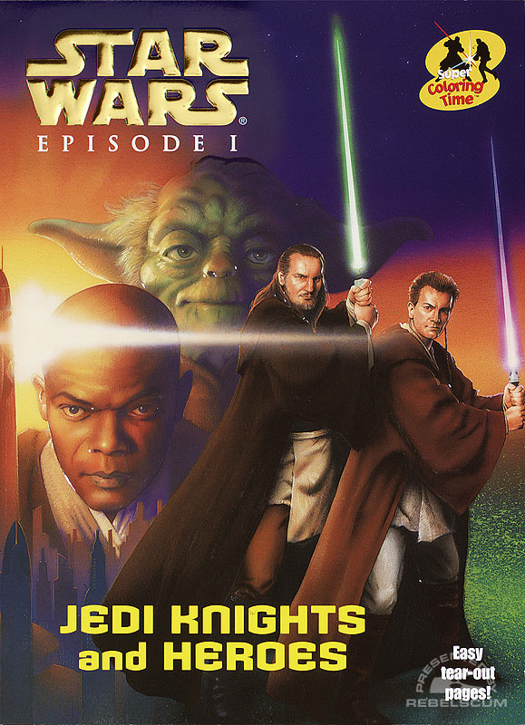 Star Wars: Episode I – Jedi Knights and Heroes Coloring Book
