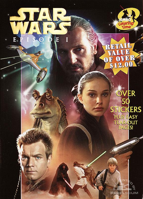 Star Wars: Episode I – Jumbo Coloring Fun