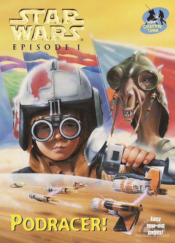 Star Wars: Episode I – Podracer! Coloring Book