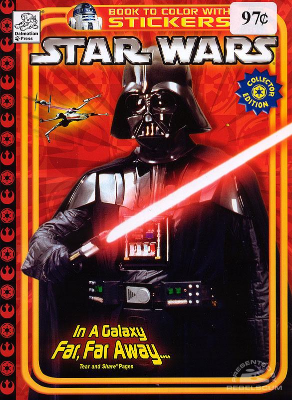 Star Wars: In A Galaxy Far, Far Away... Coloring Book