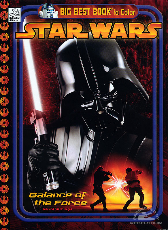 Star Wars: Balance of the Force Coloring Book