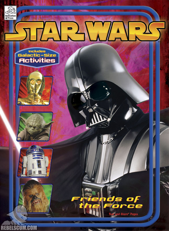 Star Wars: Friends of the Force Coloring Book