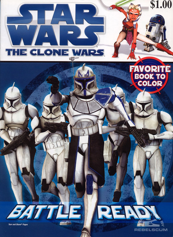 Star Wars: The Clone Wars – Battle Ready Coloring Book