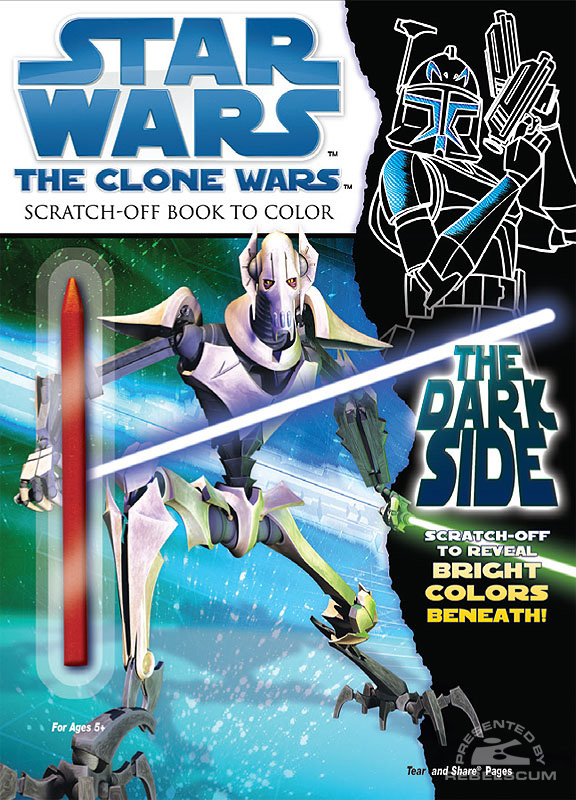 Star Wars: The Clone Wars – The Dark Side Coloring Book