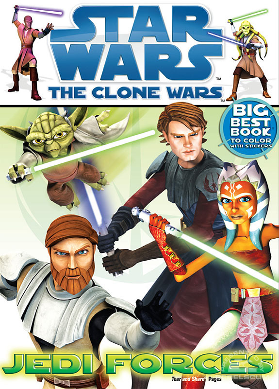 Star Wars: The Clone Wars – Jedi Forces Coloring Book