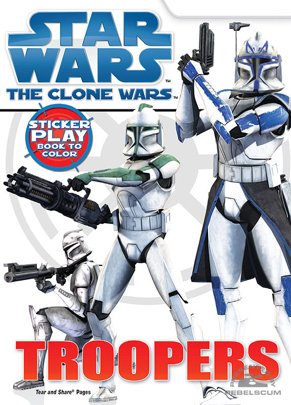 Star Wars: The Clone Wars – Troopers Coloring Book