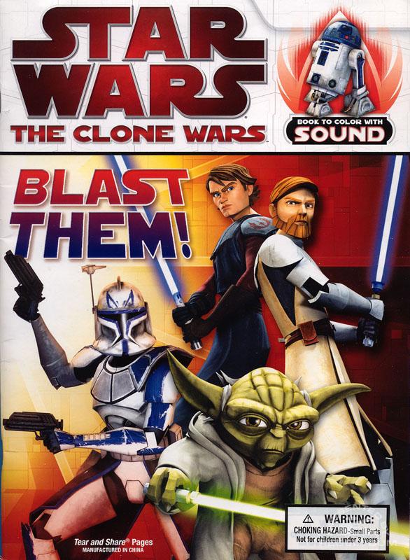 Star Wars: The Clone Wars – Blast Them! Coloring Book