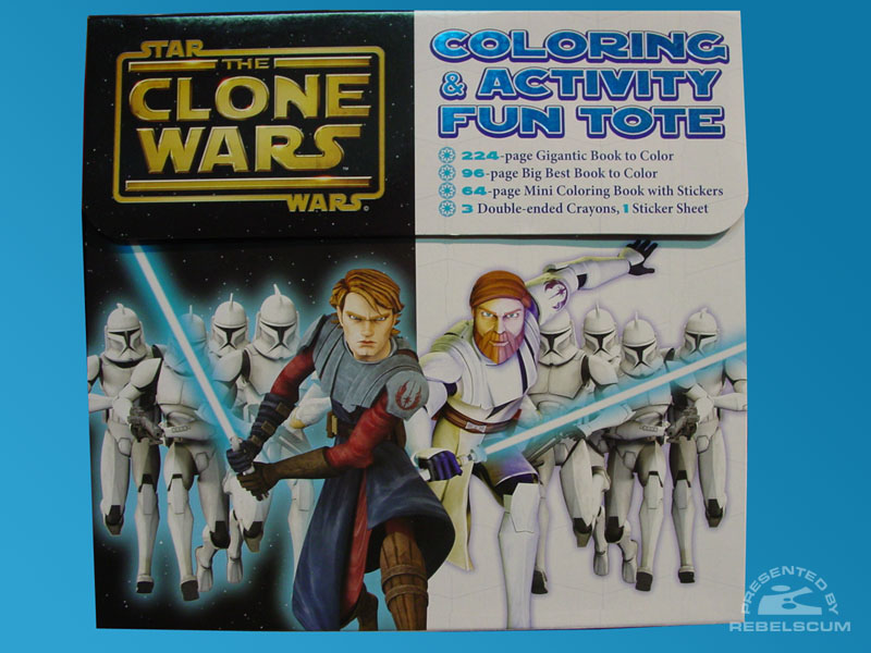 Star Wars: The Clone Wars – Coloring & Activity Fun Tote