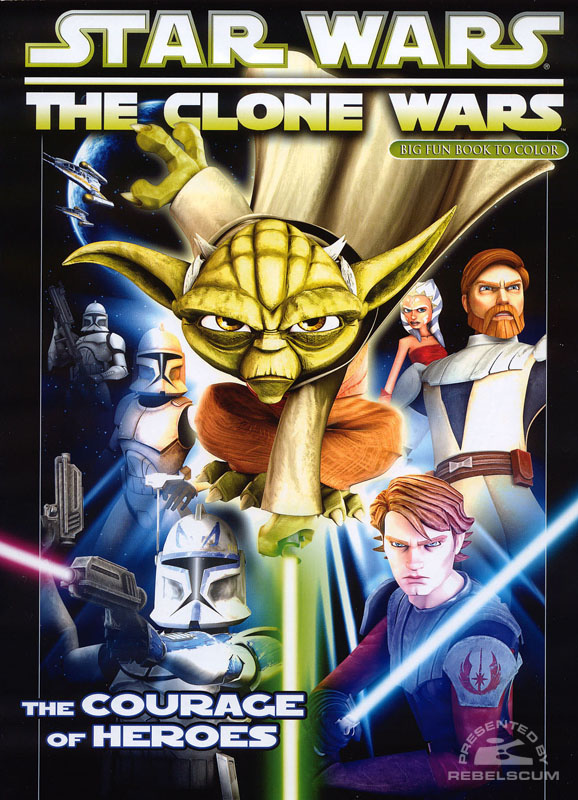Star Wars: The Clone Wars – The Courage of Heroes Coloring Book