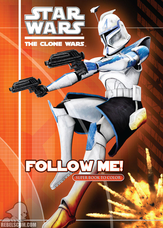 Star Wars: The Clone Wars – Follow Me! Coloring Book