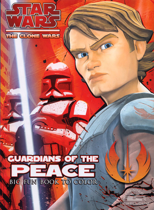 Star Wars: The Clone Wars – Guardians of the Peace Coloring Book