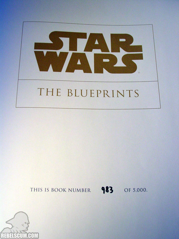 Star Wars: The Blueprints (Numbered Edition)