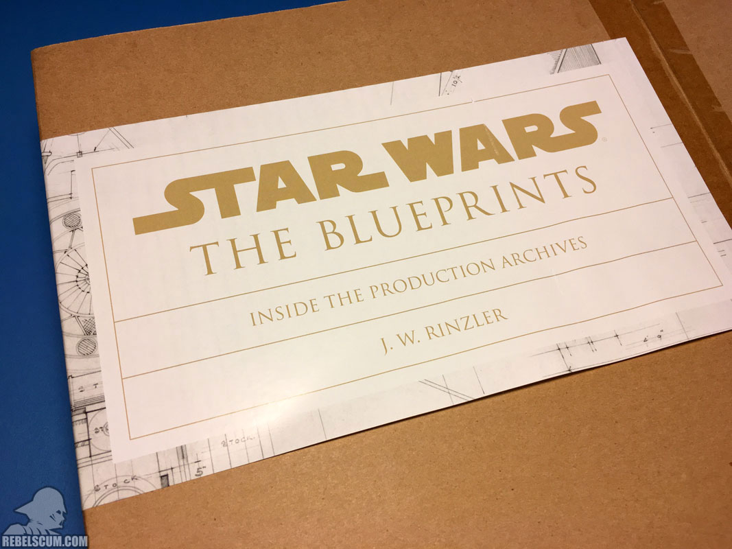 Star Wars: The Blueprints (Outer Box-Label)