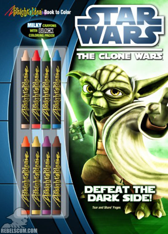 Star Wars: The Clone Wars – Defeat the Dark Side! Coloring Book