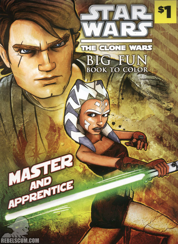 Star Wars: The Clone Wars – Master and Apprentice Coloring Book