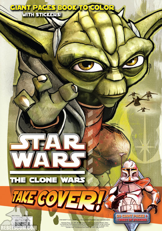 Star Wars: The Clone Wars – Take Cover Coloring Book