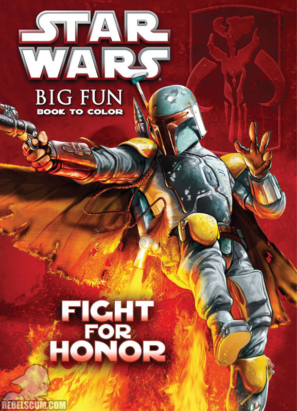 Star Wars: Fight For Honor Coloring Book