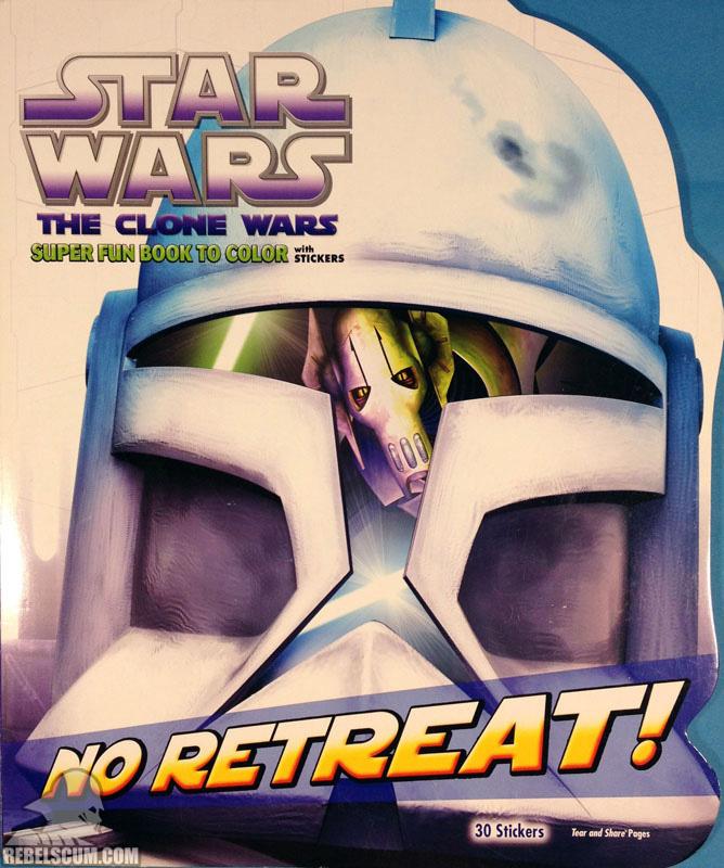 Star Wars: The Clone Wars – No Retreat! Coloring Book