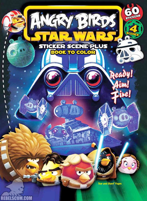 Angry Birds Star Wars: Ready! Aim! Fire! Coloring Book