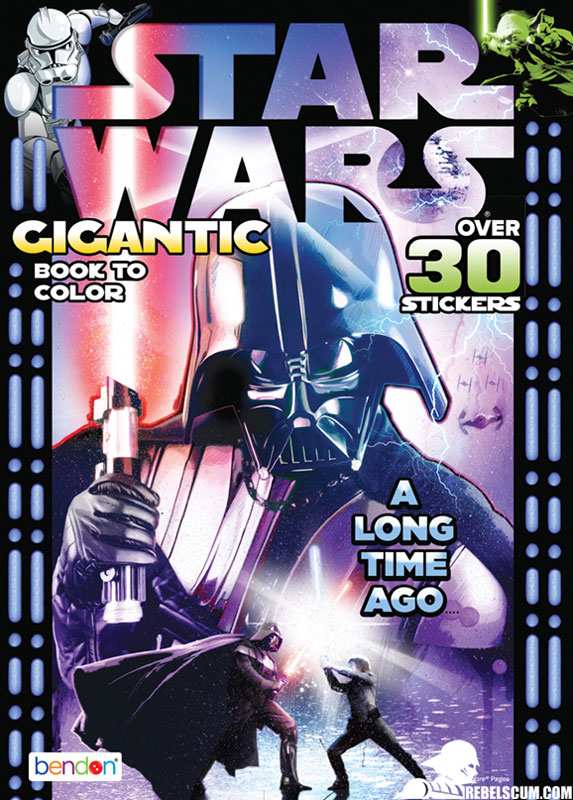 Star Wars: A Long Time Ago... Coloring Book