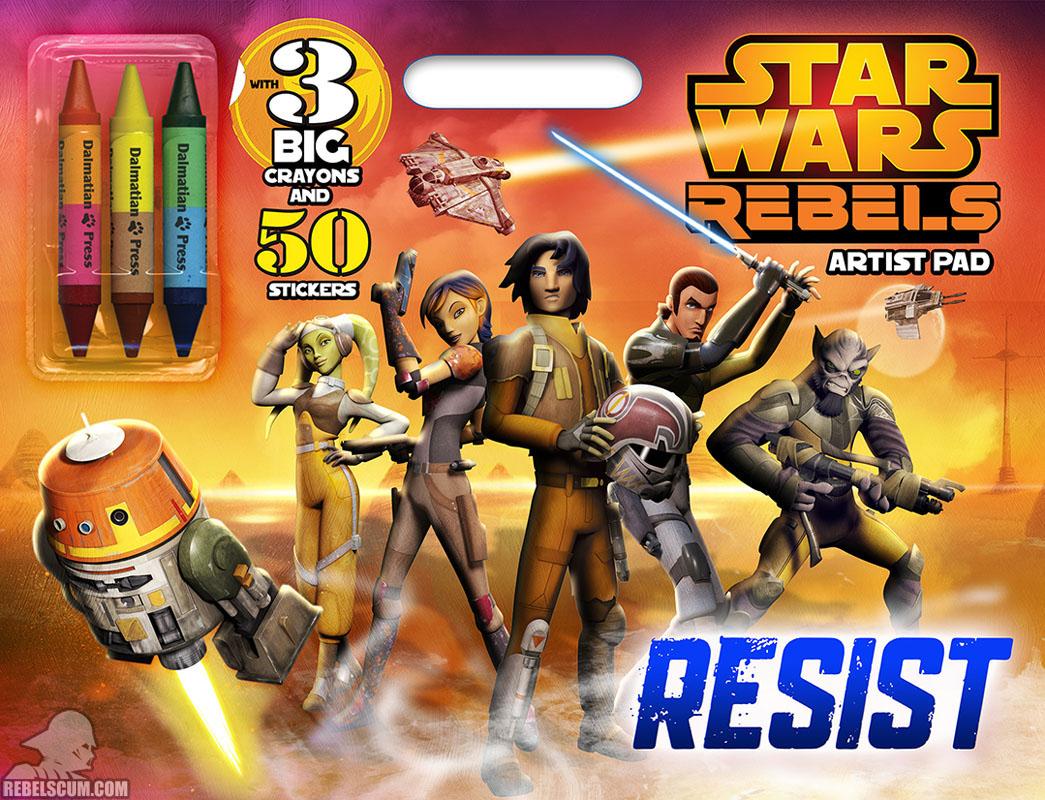 Star Wars Rebels: Resist Artist Pad