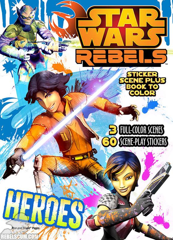 Star Wars Rebels: Heroes Coloring Book