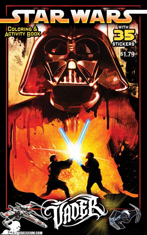 Star Wars: Vader – Coloring & Activity Book