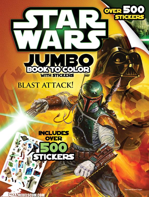 Star Wars: Blast Attack! Coloring Book