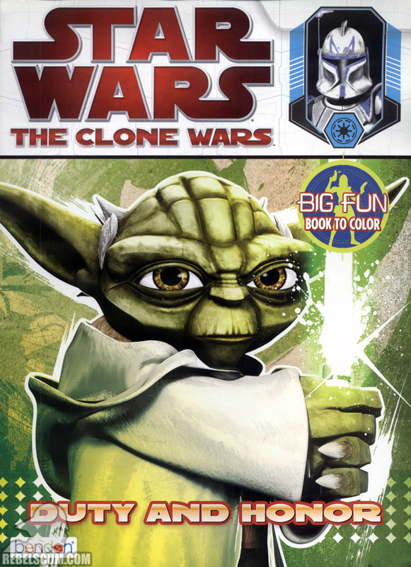 Star Wars: The Clone Wars – Duty and Honor Coloring Book
