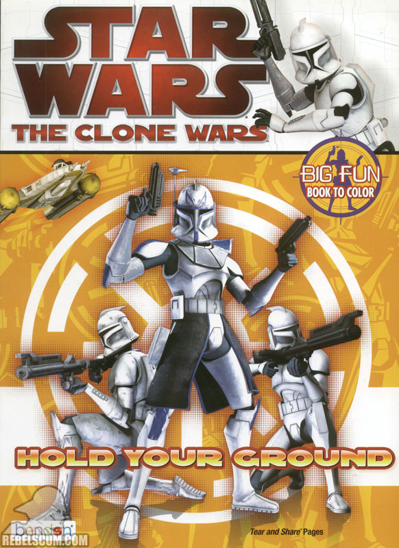 Star Wars: The Clone Wars – Hold Your Ground! Coloring Book