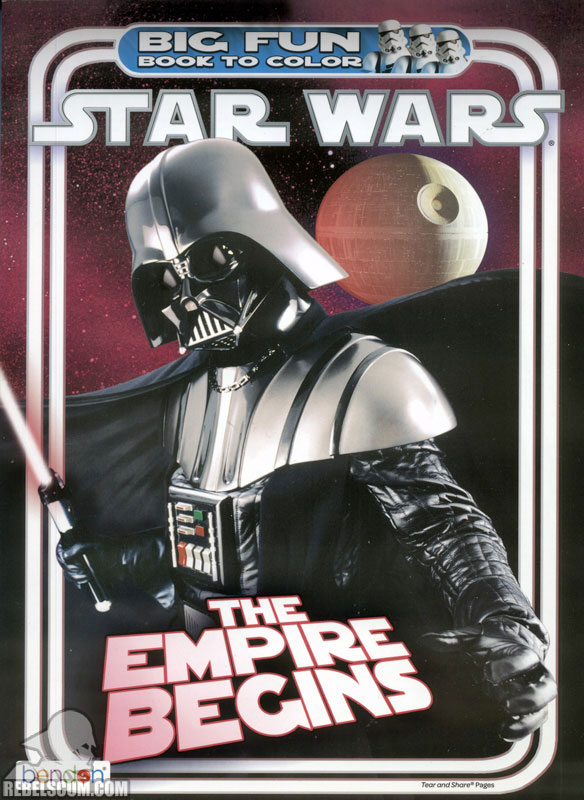 Star Wars: The Empire Begins Coloring Book