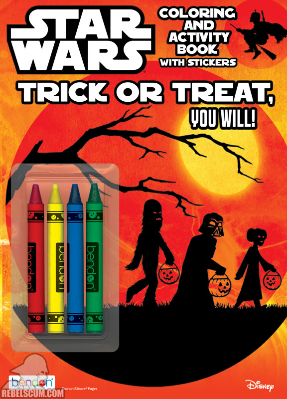 Star Wars: Trick or Treat You Will