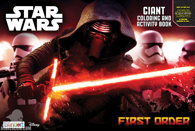 Star Wars: First Order Coloring Book