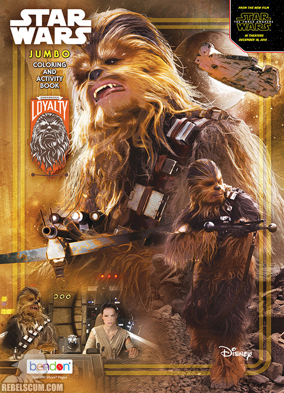 Star Wars: Loyalty [Chewbacca] Coloring Book