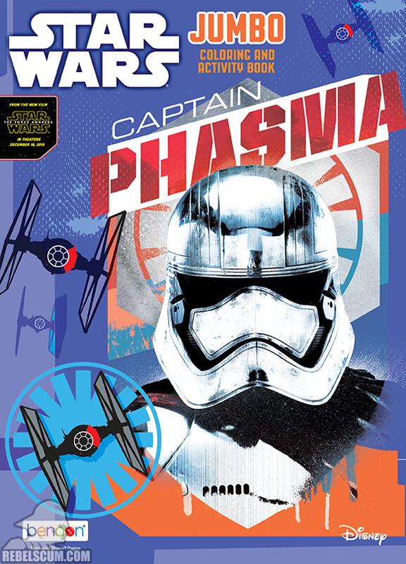 Star Wars: Captain Phasma Coloring Book