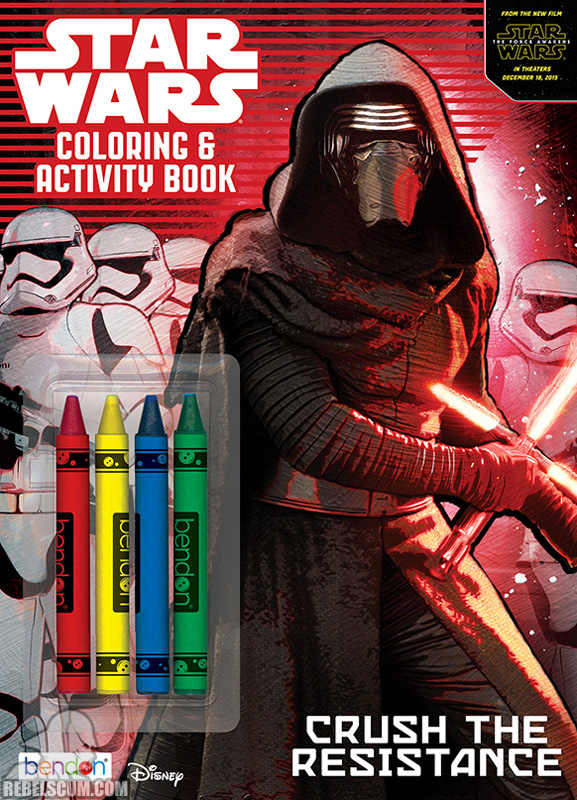 Star Wars: Crush The Resistance Coloring and Activity Book