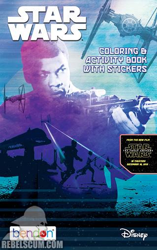 Star Wars: Justice Rebel Forces [Finn] Coloring Book