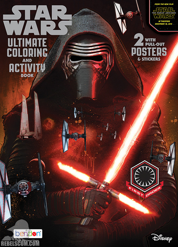 Star Wars: First Order Ultimate Coloring and Activity Book