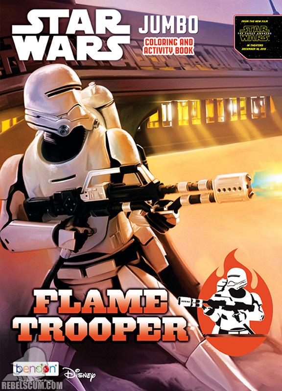 Star Wars: Flame Trooper Coloring Book