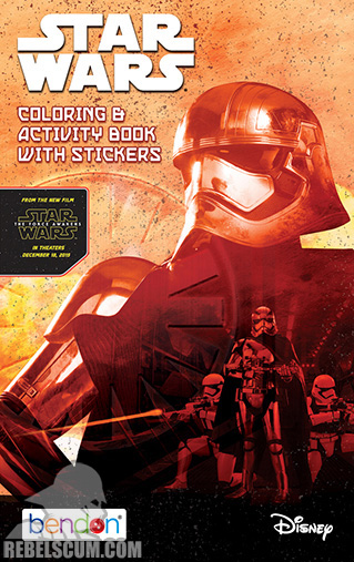Star Wars: Power First Order [Phasma] Coloring Book