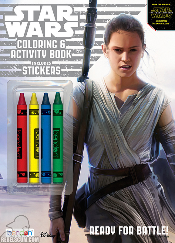 Star Wars: Ready for Battle Coloring & Activity Book
