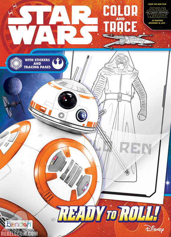Star Wars: Ready to Roll Coloring Book